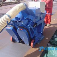 厂家供应移动钢板抛丸机除锈机预处理线