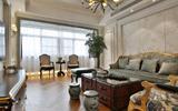 大龄剩女装修的欧式新房, 渴望如意郎君找上门来, 特喜欢沙发造型-欧式壁纸卧室