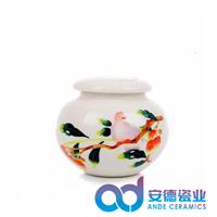 青花瓷茶叶罐,粉彩瓷茶叶罐,陶瓷密封罐