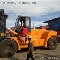 25吨叉车供应 福建华南重工钢卷石材集装箱25吨叉车