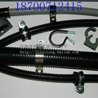 R型带胶垫卡箍 汽车线束固定扣 空调压线扣