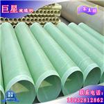 大量供应玻璃钢夹砂管道 电缆工艺供水管道