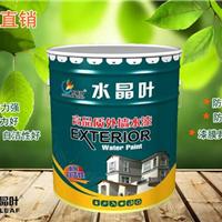 工厂直销 水晶叶高品质外墙水漆白色乳胶漆