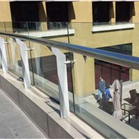 贵州贵阳玻璃护栏厂家,铝合金玻璃护栏,不锈钢玻璃栏杆