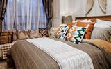 厦门品牌家装打造300平美式奢华装修-美式壁纸