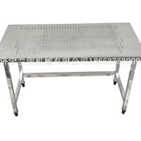 不锈钢打孔工作台货架子桌子