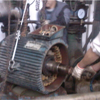 水泵电机维修