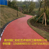 湖南永州市冷水滩彩色混凝土