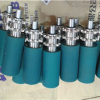 镀锌包胶滚筒 印刷包胶滚筒 工业包胶辊筒