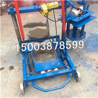 水泥环保制砖机设备小型移动式空心免烧砖机