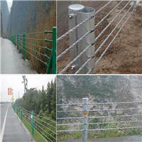 柔性缆索护栏 钢丝绳缆索护栏 缆索护栏生产厂家