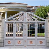 中式铝艺大门,铁艺大门,门