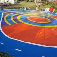 天津塑胶地面||塑胶跑道施工||幼儿园地面