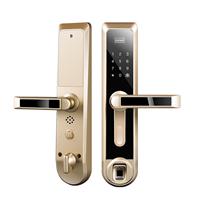 深圳诺克威A80指纹密码锁 家居防盗门智能锁