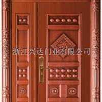 兴达非标门精品准铜门子母门尺寸可定制