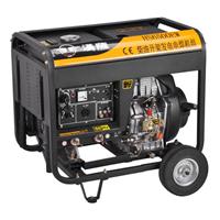 5KW电启动柴油发电机报价