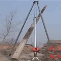 铝合金三角架立杆机,铝合金人字抱杆,分体式加强立杆机