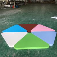 厂家直销 糖果色系列吊顶装饰三角形铝单板