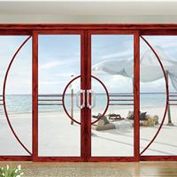 阳台吊轨推拉门定制客厅隔断门日式钛铝合金室内静音移门房间趟门