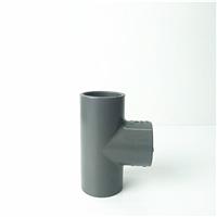南亚 环琪 锚牌 耐酸碱 PVC等径三通 灰色 PVC给水三通