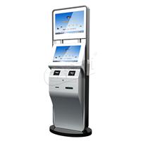 触屏自助访客机 双屏立式访客机/支持功能定制上门安装