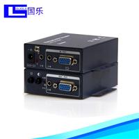 供应VGA延长器100米带近端VGA输出可手动调