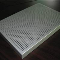 新型墙面隔断材料微孔吸音铝蜂窝板