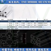 厂家特价出销(广州珠海4040流水线铝型材)形装:五个圆孔