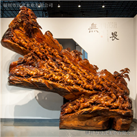 老挝花梨万马奔腾根雕木雕工艺品树根整体雕刻大型摆件动物雕像