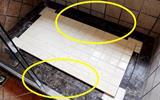 邻居在淋浴房地面做个拉槽, 太聪明了, 排水速度提升十倍-淋浴房图片