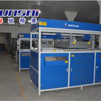 供应箱包吸塑成型机 上海骏精赛厂家生产 全自动吸塑机 冲切一体