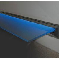 艾美铝层板灯,铝层板托,铝玻璃灯,LED层板灯