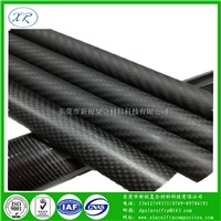 高强度哑光碳纤管 3k平纹碳纤定做 专业制造亮光斜纹碳素纤维管