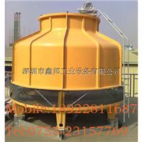 冷却塔厂家专业供应80T玻璃钢冷却塔
