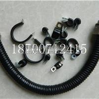 甘肃加厚型PVC包塑金属软管、接头  穿线蛇皮管3/4寸