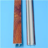 自产自销铝合金推拉门封口条PVC门窗装饰线条厂家