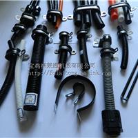 34.5mmR型线束波纹管管卡  Q195套胶条R型线卡