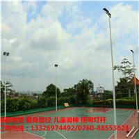 湖南热镀锌管篮球场灯杆生产厂家衡阳 6米8米球场灯杆灯