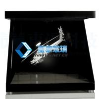 全息玻璃应用在幻影成像展示柜,全息展柜,全息镀膜玻璃批发价格