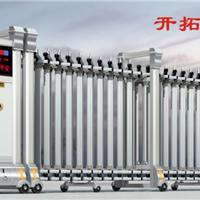 甘肃白银电动伸缩门专业订做、分段伸缩门生产厂家