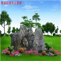 陕西公园太湖石 大型假山石 园林点缀石 驳岸石