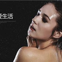 浴室不锈钢明装挂墙式淋浴花洒套装冷热水龙头雨淋可升降花洒喷头