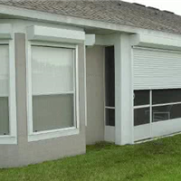 江西厂家 欧式卷帘窗 家用遮阳窗 别墅防盗窗