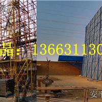 郑州建筑爬架网厂家&外围蓝色全钢爬架网100平米起订