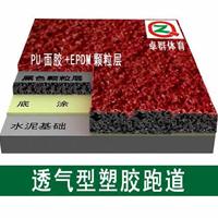 惠州跑道场地材料卓群体育斯普特品牌