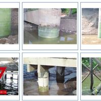 魏工新材水下玻纤套筒桥梁墩柱修复的执行标准