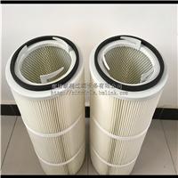 电焊烟除尘器专用滤芯聚酯纤维折叠覆膜阻燃除尘滤筒