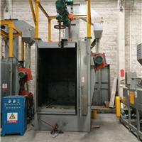 铝制品表面处理喷砂机 喷涂挂具表面处理抛丸机 佛山吊钩式抛丸机
