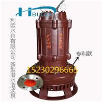 利欧32ZJQ-13-15-K立式耐腐蚀潜水渣浆泵矿用吸沙泵