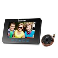 丹米尼4.3寸屏智能家用语音对讲电子猫眼